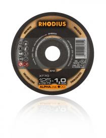 Rhodius Alpha XT70 tarcza tnąca, fi 125 mm x 1,0, 1 sztuka
