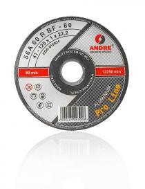 Andre T41 Pro Line Aluminium tarcza tnąca 125 mm x 1,0, 1 sztuka