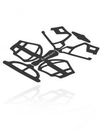 Optrel IsoFit Tricot Pad zestaw poduszek do nagłowia, 5 sztuk