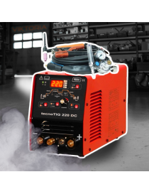 Ideal TecnoTig 220 DC Pulse Digital spawarka inwertorowa - zestaw