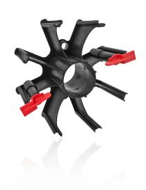 Adapter S8 jednoczęściowy do szpuli koszykowej drutu MIG/MAG
