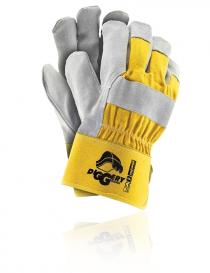 Rejs Diggery YJS rękawice ochronne, kolor żółto-szary, rozmiar 10,5