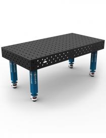GPPH stół spawalniczy tradycyjny TWT PRO 2000x1000 mm nogi na kółkach