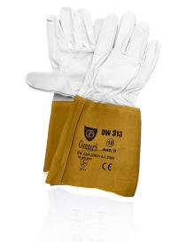 Syro Gunners Dw-313K rękawice ochronne, kolor szaro-brązowy, rozmiar 10