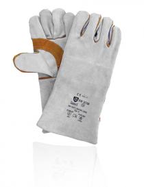 Syro Gunners Dw-303W rękawice ochronne, kolor szaro-brązowy, rozmiar 10