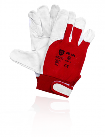 Syro Gunners Dw-104 rękawice ochronne, kolor szaro-bordowy, rozmiar 10