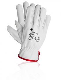 Protech PSW 1202 rękawice ochronne, kolor biały, rozmiar 10