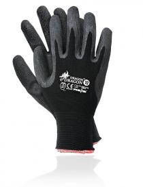 Rejs Dragon rękawice ochronne, kolor czarny, rozmiar 10