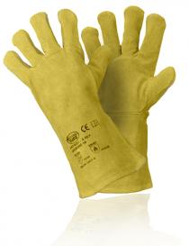 StrongHand 0256 S53F rękawice ochronne, kolor żółty, rozmiar 10