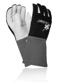 Weldas Arc Knight 10-2050 rękawice ochronne, kolor czarno-szaro-biały, rozmiar 9,5