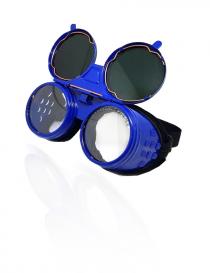 Irewo-1 gogle ochronne, kolor niebieski