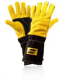 Esab Curved Mig rękawice ochronne, kolor żółto-czarny, rozmiar 10