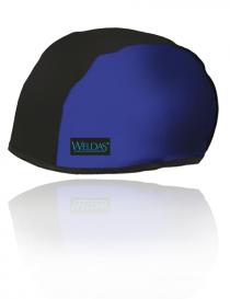Weldas Beanie 23-8000 czapka ochronna, kolor czarno-niebieski, rozmiar L