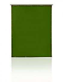 Pascal T75 zasłona spawalnicza, kolor zielony, rozmiar 140x200