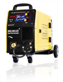 Magnum MIG 240 LCD Dual Puls Synergia inwertorowy półautomat spawalniczy